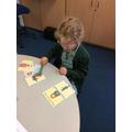 Sequencing nursery rhymes