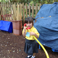 Using the outside telephones