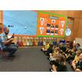 Ukulele lessons with Mr Higgins