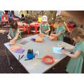 Enjoying outdoor learning