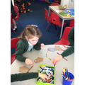 Making mice from Hickory Dickory Dock