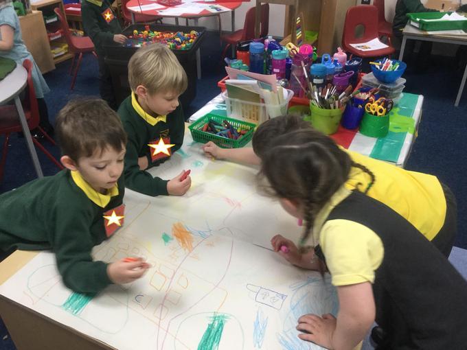 Teamwork - creating a map