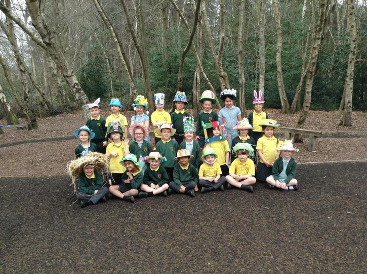 Our Easter Bonnets!
