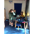 Being doctors to help Miss Polly's Dolly