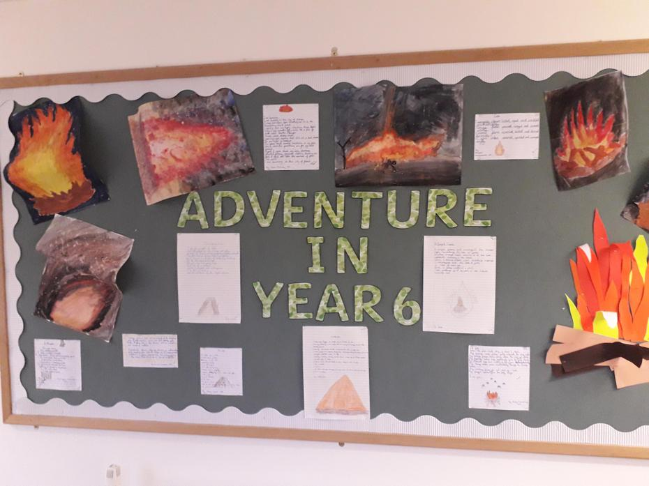 Adventures in year 6.