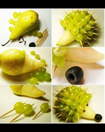 Grape Hedgehog
