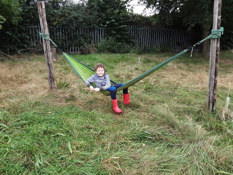 Enjoying hammocks