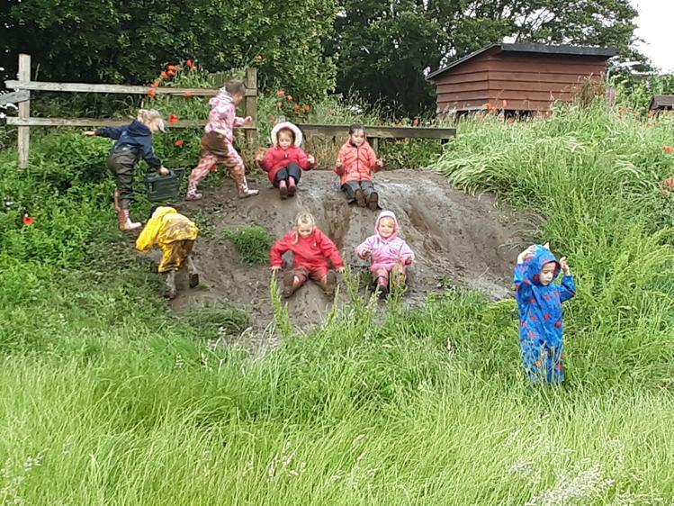 More mud fun