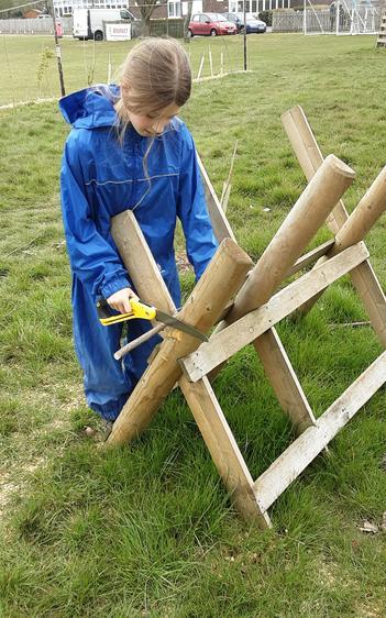 Using the Laplander saw