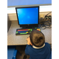 Learning how to use the computer