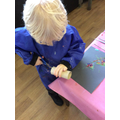Developing our cutting skills!