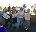 Children in Class 1/2 discussed how plastic can effect the planet.