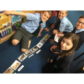 In Class 5/6 the children explored the history of air pollution using a timeline of events