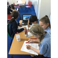 Class 3/4 created fact files about endangered animals with examples of how we can help