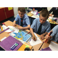 The children in Class 5/6 investigated Mexico City and compared it to London