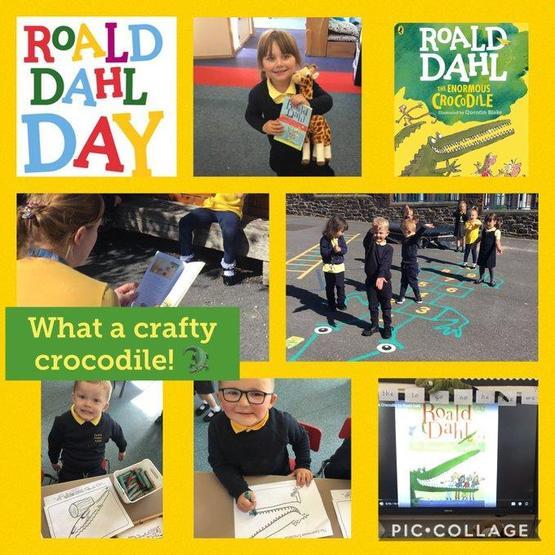 Roald Dahl day Dosbarth Wrexham