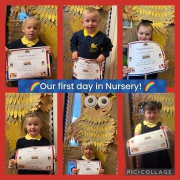 First day in Nursery