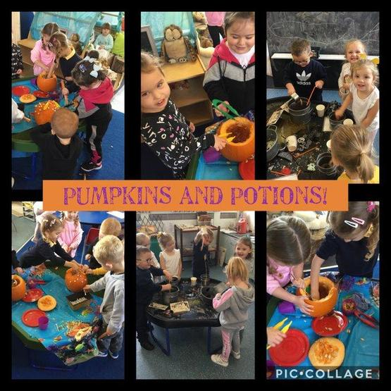 Pumpkins & Potions with Dosbarth Wrexham