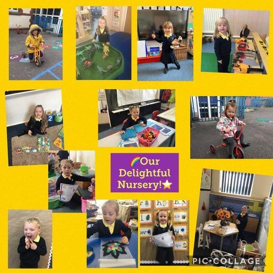 Nursery first days in school
