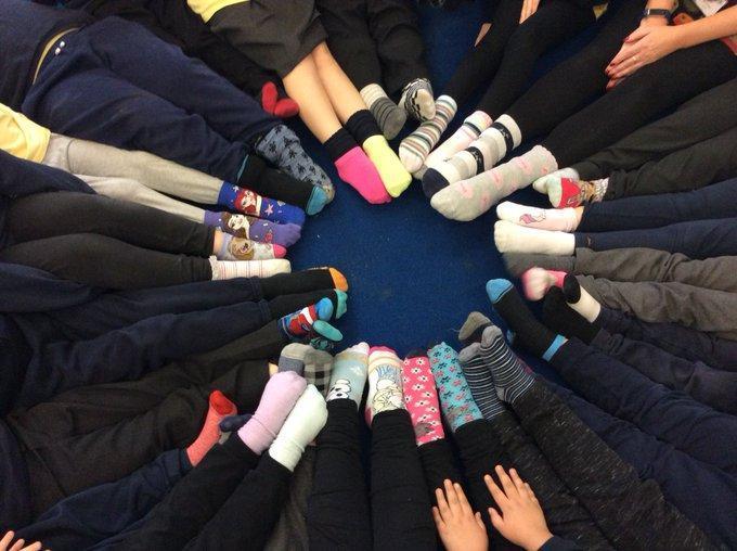 Odd socks for Anti Bullying Day 2020