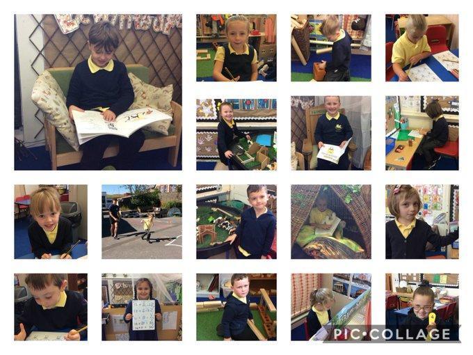 Dosbarth Cardiff first days in school