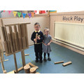 We Love our BLOCK PLAY areas (STEM from the START)