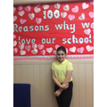 Pupil Voice Display: We are Proud of Our School