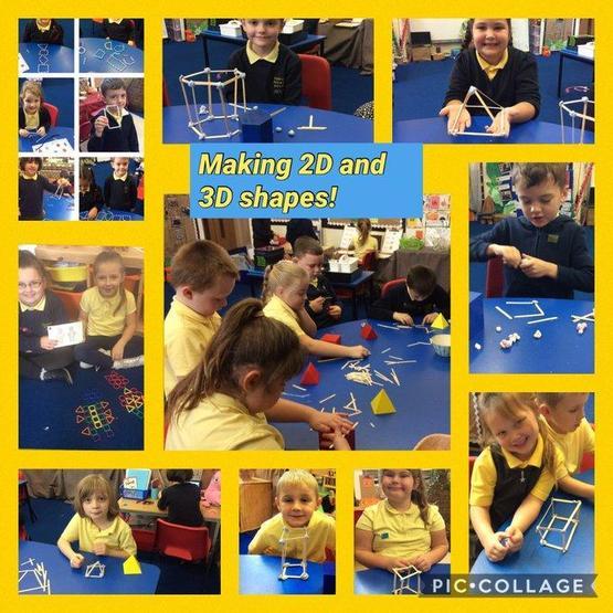 Making 2D & 3D shapes