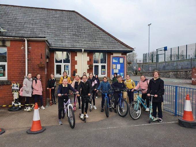 Getting active for the big pedal challenge 2021