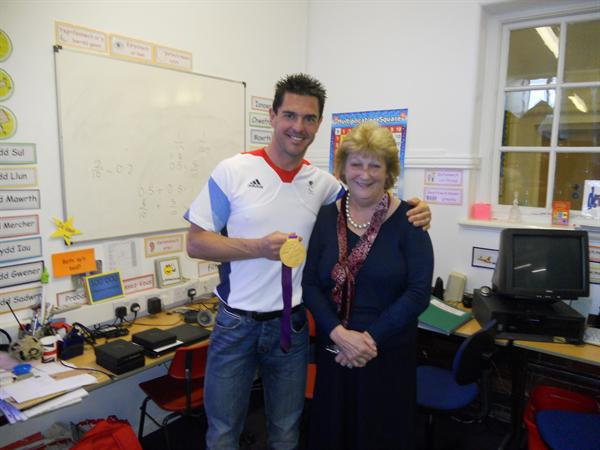 Paralympian Gold medalist Mark Colbourne