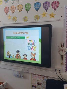 Roald Dahl day Dosbarth Swansea
