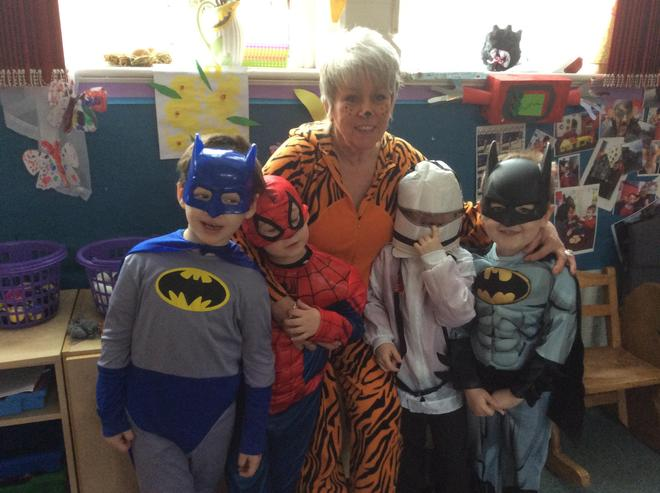 We had lots of fun on World Book Day!