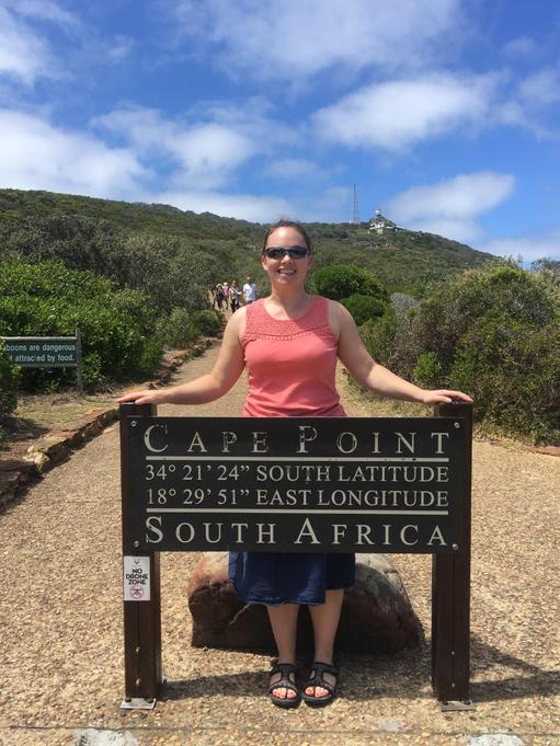 Mrs Cleland visits South Africa