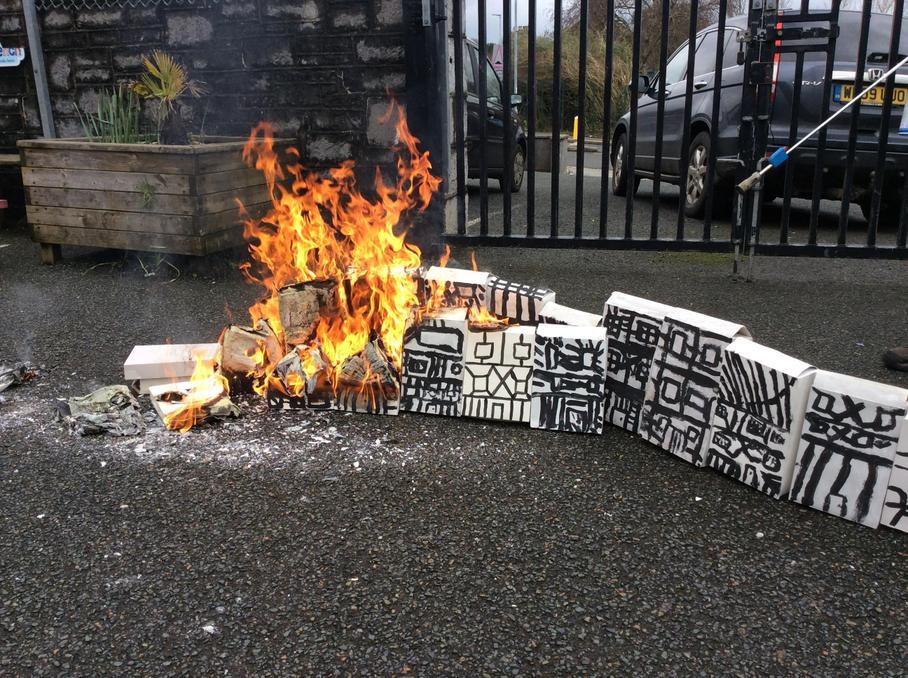 London's burning!
