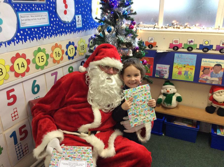 So did Santa!