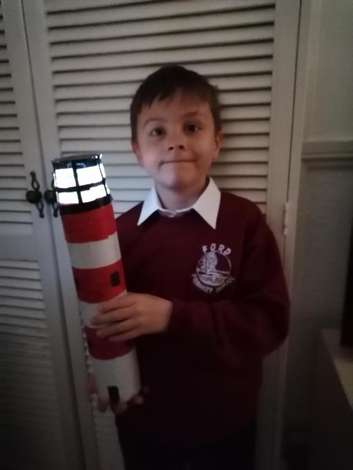 Maple Class Home Learning Lighthouses!