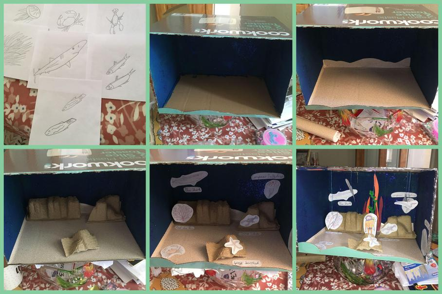 Home learning on Plymouth Sound by Gracie A