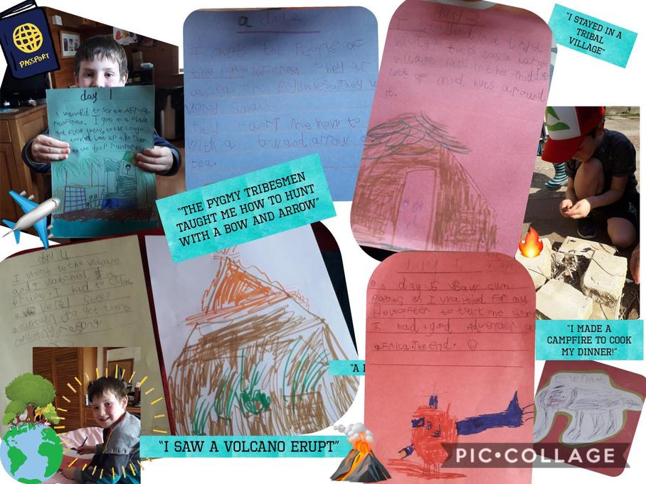 Some excellent home learning and fun!