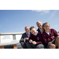 Kian Ollis & Shaylee Brown Help Open Fordbridge