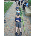 The sensory garden where we grow flowers and herbs