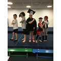 Our pirate headteacher and teachers