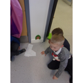 A special door arrived in Reception.