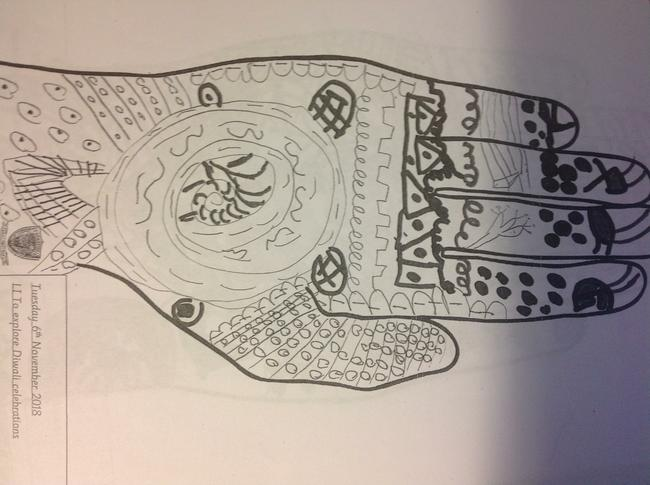 Mehndi Patterns for Diwali celebrations
