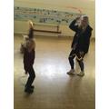 Even Miss Baker had fun!