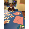 We can recognise numbers to 3!