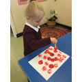 Exploring polka dots!