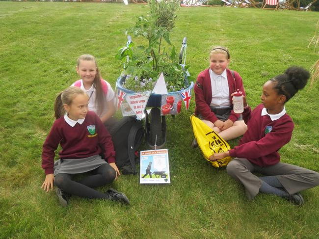 Children preparing the plant a meal competition