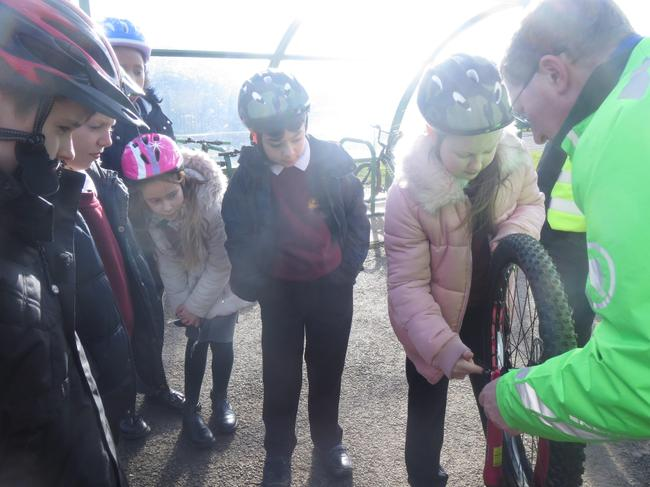 Dr Bike Visit