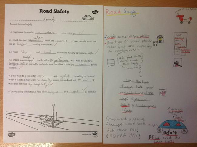 Examples of Road Safety Work