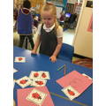 We can match numeral to quantity!